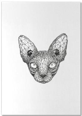 Sphynx Cat bloc-notes