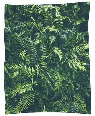 Leaves I Fleece Blanket