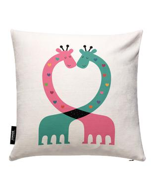 Love With Heart Housse de coussin