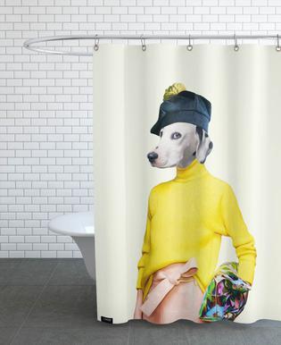 Miss Suspect Shower Curtain