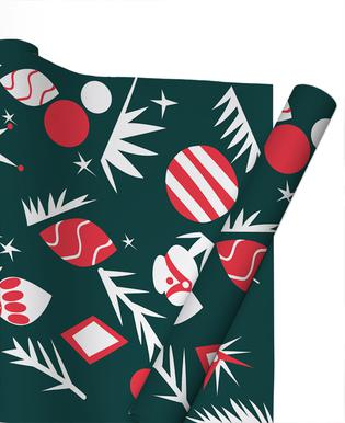 1960 Holiday Gift Wrap