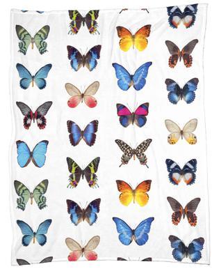 Colourful Butterflies plaid