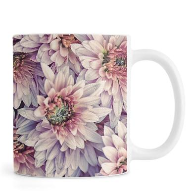 Wheeping Chrysanthemums mug