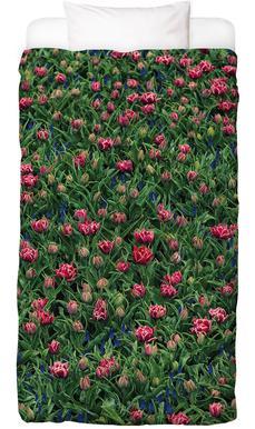 Tulip Field Pink Kids' Bedding