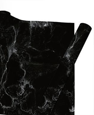 Schwarzer Marmor papier cadeau