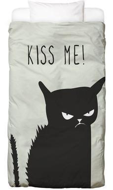 Kiss Me Cat Bed Linen