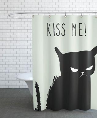 Kiss Me Cat douchegordijn