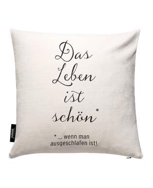 Das Leben ist schön Cushion Cover