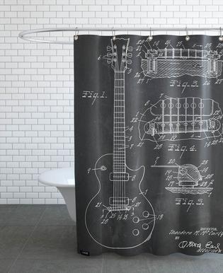 Guitar -Duschvorhang