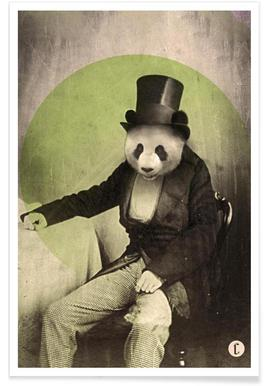 Proper Panda affiche