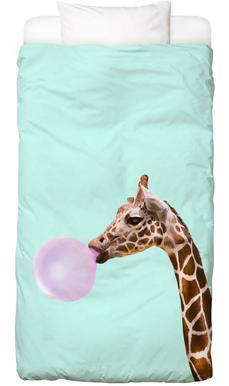 Giraffe -Kinderbettwäsche