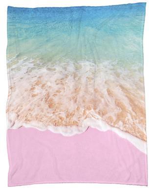 Pink Sand Fleece Blanket