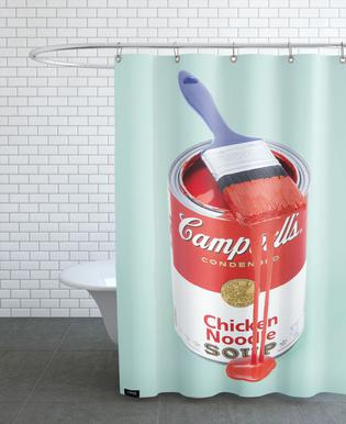 Andy Warhol's rideau de douche