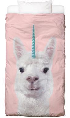 Alpaca Unicorn Dekbedovertrekset