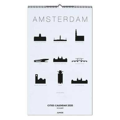 Cities Calendar 2020 - SCHUMFF wandkalender