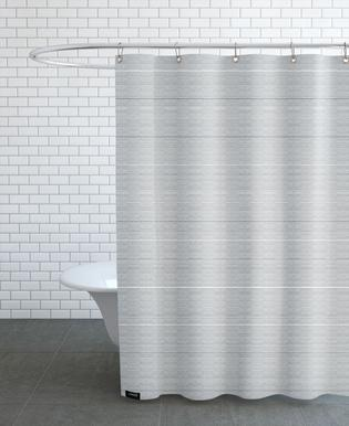 Watercolor Stripes -Duschvorhang