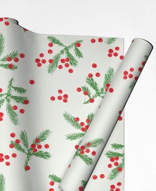 Christmas Berries papier cadeau