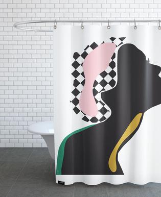 Silhouette rideau de douche