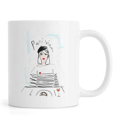 Miss Parisian mug