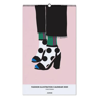 Fashion Illustration Calendar 2020 - Linda Gobeta wandkalender