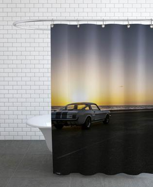 Sunset Mustang Shower Curtain