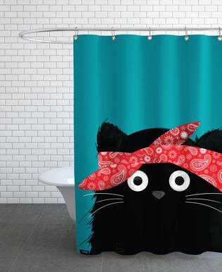 Cat - 2 Pac -Duschvorhang
