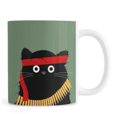 Cat - Rambo -Tasse