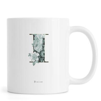 Flower Alphabet - I Mug