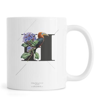 Botanical Alphabet - H