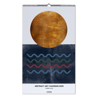 Abstract Art Calendar 2020 - Froilein Juno wandkalender