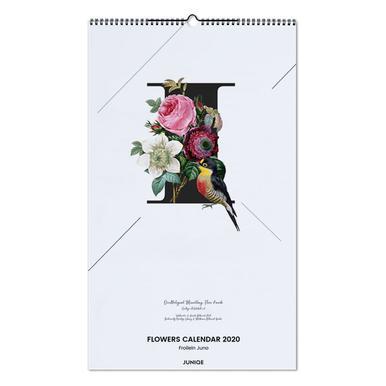 Flowers Calendar 2020 - Froilein Juno wandkalender