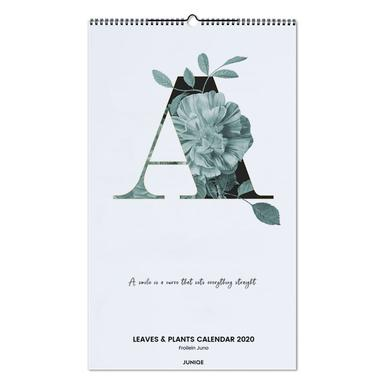 Leaves & Plants Calendar 2020 - Froilein Juno -Wandkalender