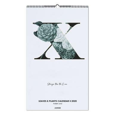 Leaves & Plants Calendar II 2020 - Froilein Juno Wall Calendar