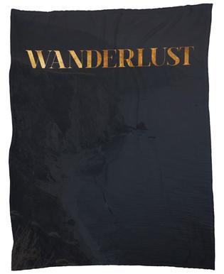 Wanderlust -Fleecedecke