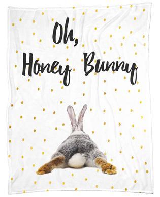 Honey Bunny -Fleecedecke