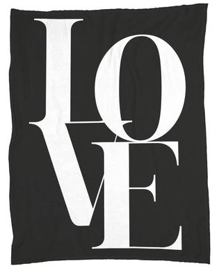 Love 1 Fleece Blanket