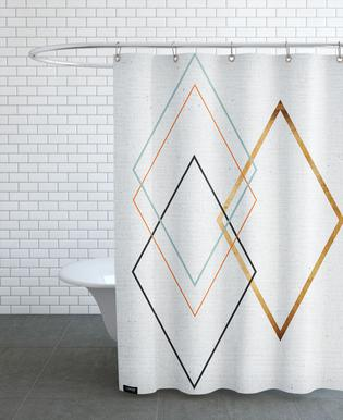 Diamond rideau de douche
