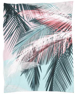 Tropical 01 -Fleecedecke