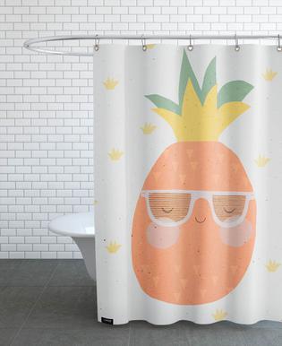 Ananas -Duschvorhang