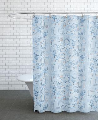 Feline Shower Curtain