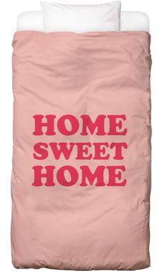Home Sweet Home - Pink Bettwäsche