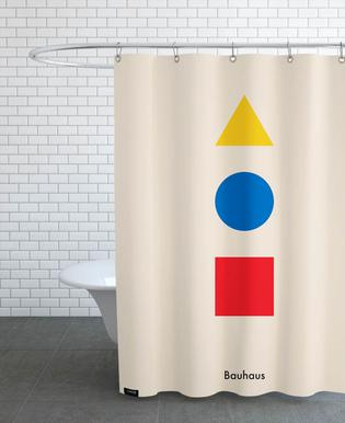 Primary Polygons Shower Curtain