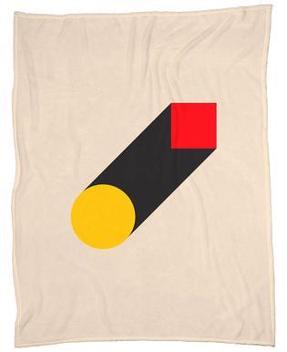 Geometric Illusion Fleece Blanket