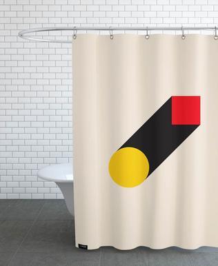Geometric Illusion Shower Curtain