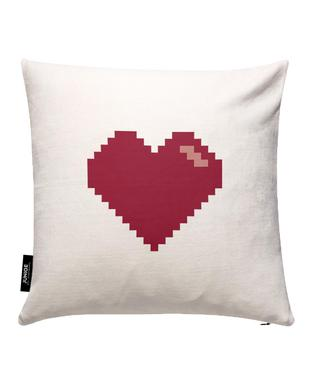 Pixel Heart Cushion Cover