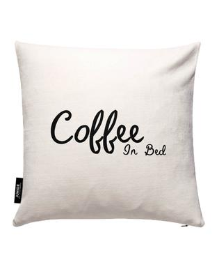 Coffee In Bed Cushion Cover