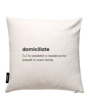 Domiciliate 2 Cushion Cover