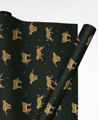 Leopard Pattern papier cadeau