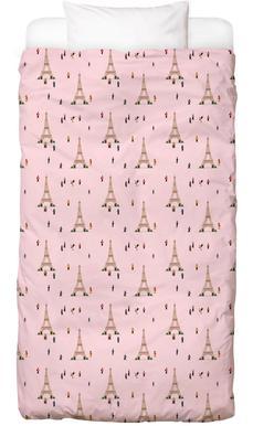 Paris Pattern kinderbeddengoed