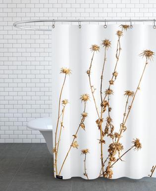 Flora - Mariendistel -Duschvorhang